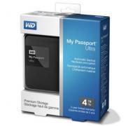 WD 西部数据 My Passport Ultra 升级版 4TB 2.5英寸 移动硬盘