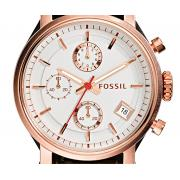 Fossil ES3616 复古玫瑰金女表