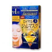 KOSE 高丝 胶原蛋白 提拉紧致 黄金果冻面膜