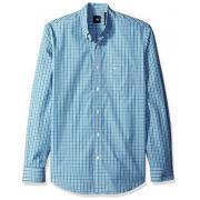 DOCKERS Button 男士长袖格子衬衫