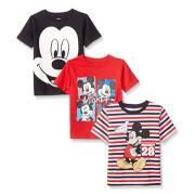 Disney 迪士尼 3 Pack Mickey 男童T恤 3件裝