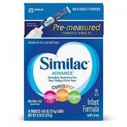 Abbott 雅培 Similac Advance心美力金护1段婴儿奶粉 随身装 16袋/盒*4盒装