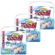GOO.N 大王 维E系列 婴幼儿纸尿裤 S号(4-8kg)106片*3包