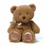 GUND 我的泰迪熊毛绒玩具 10英寸 25cm  褐色*4件