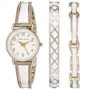 ANNE KLEIN AK/2052WTST 女款镶钻时装腕表手镯套装