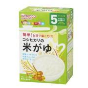 Wakodo 和光堂 宝宝辅食高钙纯白米糊 5g*10小袋