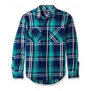 TOMMY HILFIGER Double Pocket Plaid 男童长袖衬衫