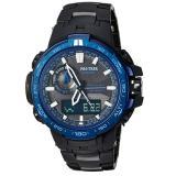 CASIO 卡西欧 PRW-6000SYT-1CR 男款太阳能电波登山腕表