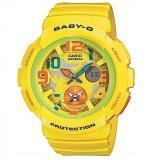 CASIO 卡西欧 Baby-G BGA-190-9B Beach·Traveller系列 黄色腕表
