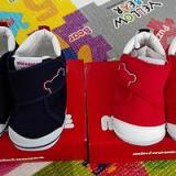 MIKI HOUSE 二段学步鞋*两双 红色/蓝色 *2双