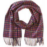 Phenix Cashmere Two-Tone Plaid 羊绒围巾