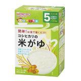 Wakodo 和光堂 越光米高钙纯白米糊 5g*10小袋