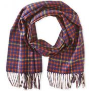 Phenix Cashmere Two-Tone Plaid 羊绒围巾