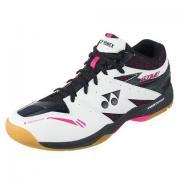 YONEX 尤尼克斯 SHB820MD 男士羽毛球鞋(白/黑)+T恤+短袜
