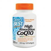 Doctor's Best High Absorption CoQ10 辅酶Q10 100mg*120粒