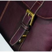 Samsonite 新秀丽 Colombian Leather Flapover 男士公文包