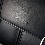 Samsonite 新秀丽 Leather Flapover Case 真皮公文包