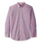IZOD Essential Plaid 男士纯棉长袖衬衫