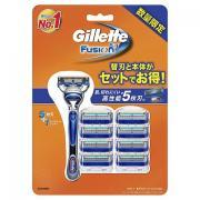 Gillette 吉列 Fusion5 手動剃須刀(含1刀架9刀頭)