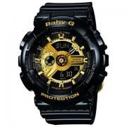 CASIO 卡西欧 Baby-G BA-110GB-1AJF 黑金系列 双显运动腕表