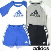 adidas 阿迪达斯 儿童T恤短裤套装