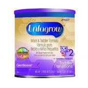 Enfagrow 婴幼儿防胀气奶粉 2 段,添加铁,21 盎司