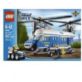 乐高4439城市系列 警用重型直升机