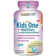 Rainbow Light儿童每日一片综合维生素90粒