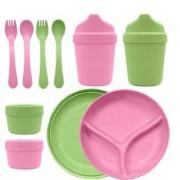 Green Sprouts寶寶餐具10件套