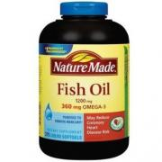 4.2折!Nature Made深海鱼油+Omega-3