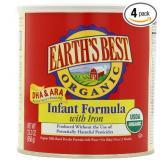 Earth's Best世界最好婴儿1段有机奶粉 四罐装