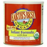 EARTH'S BEST世界最好婴儿有机强化铁奶粉 658克*4罐装
