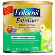 Enfamil美赞臣 EnfaCare 铁强化婴儿配方奶粉6罐装