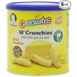 Gerber 嘉宝奶酪玉米浇汁全谷物香脆泡芙条6罐装