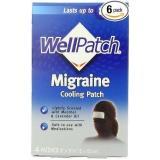 舒缓头痛!WellPatch头痛偏头痛冷却贴