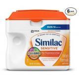 Similac Sensitive 雅培金盾系列 婴儿一段奶粉660g*6罐