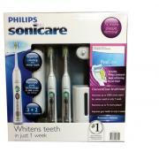 Philips 飞利浦 白金级 声波震动牙刷套装 2只装