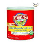 Earth's Best 地球最好 Organic 有机含铁奶粉