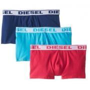 迪赛Diesel Shawn Boxer 男款平角内裤3件装