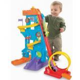 Fisher-Price 费雪小车滑道玩具套装