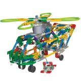 亲子互动首选 K ' nex 科乐思经典运输直升机