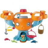 Fisher-Price 费雪 Octonauts Octopod 八爪鱼玩具套装
