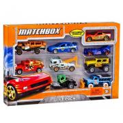 Matchbox 9-Car Gift Pack火柴盒系列汽车精致模型/9个装