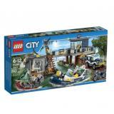 乐高LEGO 拼插类玩具City城市系列 沼泽警察局 L60069