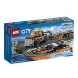 LEGO 乐高 City城市系列 60085 赛艇运输车