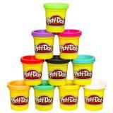 孩之宝Play-Doh培乐多橡皮泥10色套装