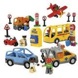 LEGO 乐高 Education 教育系列 9333 得宝交通工具套装