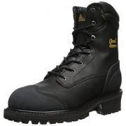 CHIPPEWA 55058 男士8英寸真皮防水户外靴