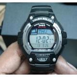CASIO 卡西欧 W-S220-8BVCF 男士太阳能运动腕表