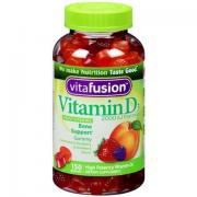 Vitafusion Vitamin D3 成人維生素營養軟糖